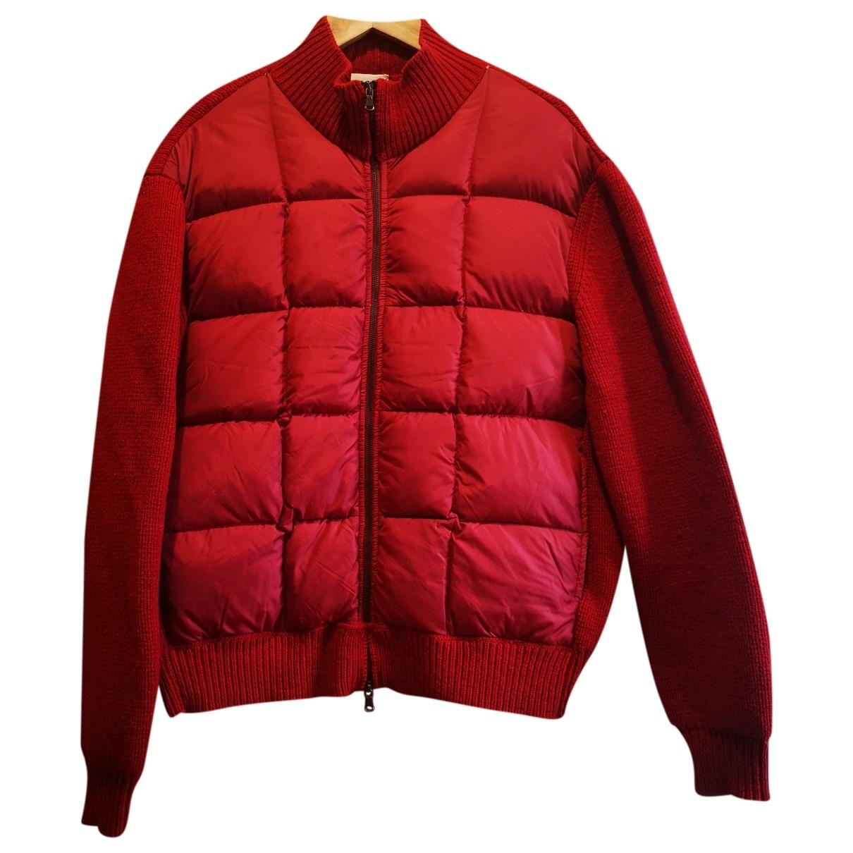 Aspesi - Vestes.Blousons   pour homme en laine - rouge