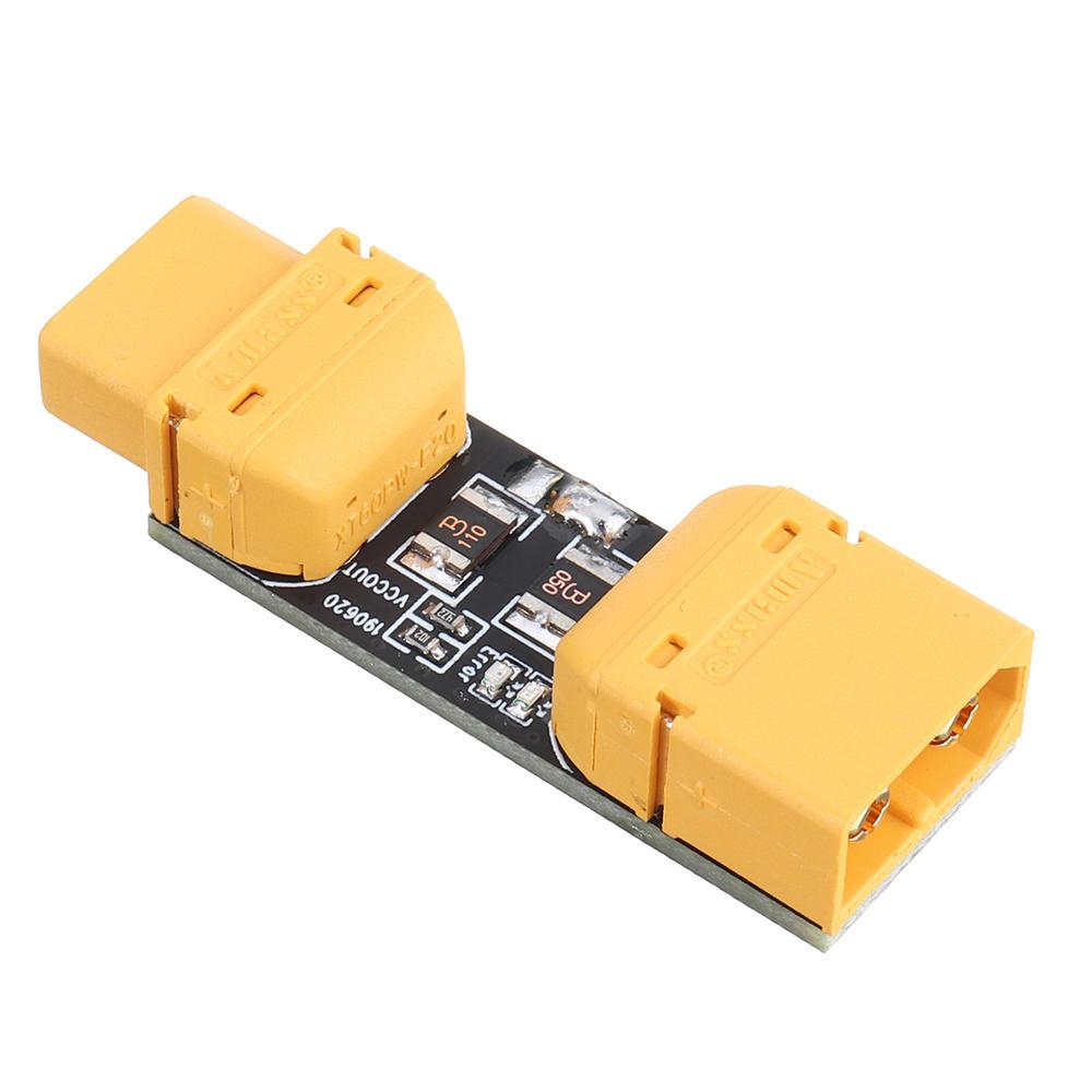 YRRC 1-6S 33V Amass XT60 Smoke Stopper Connecting Line Short Tester Circle Breaker for RC Model