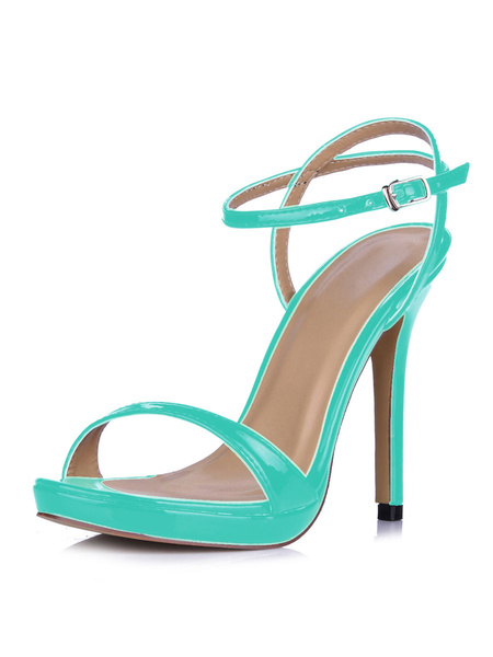 Milanoo High Heel Sandals Womens Open Toe Slingback Stiletto Heel Sandals