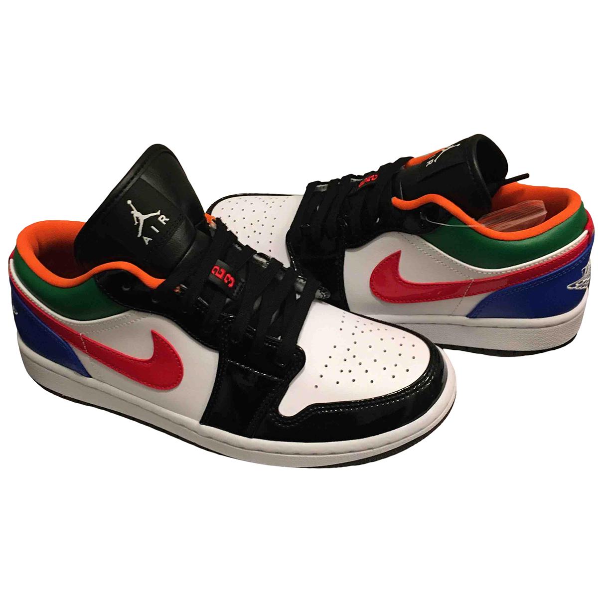 Jordan Air Jordan 1  Sneakers in  Bunt Leder