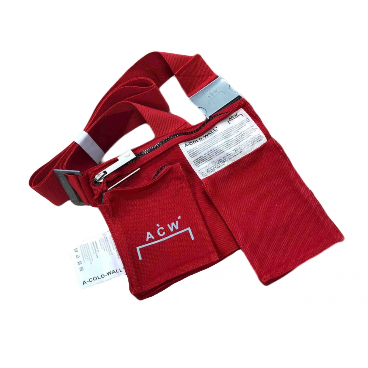 A-cold-wall \N Red Cloth bag for Men \N