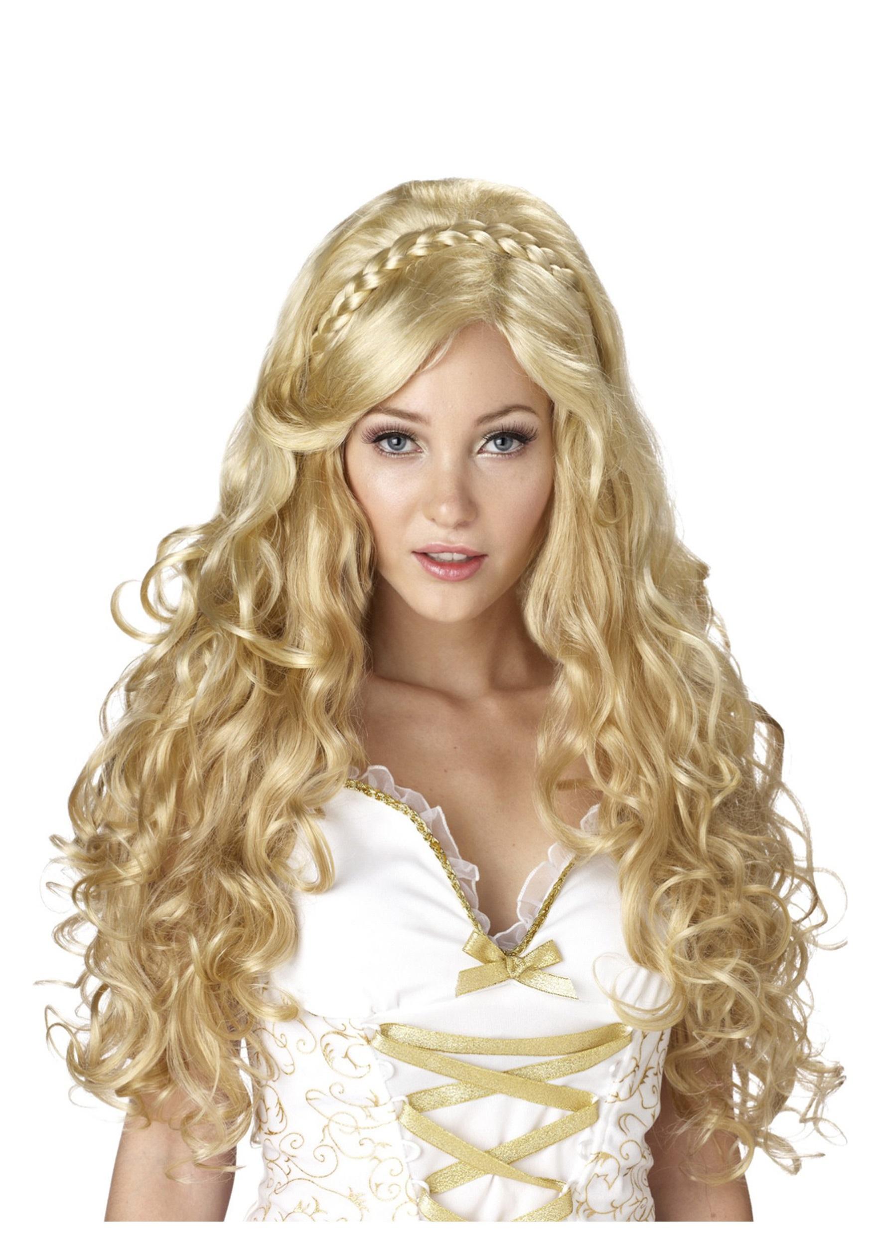 Women's Blonde Goddess Wig