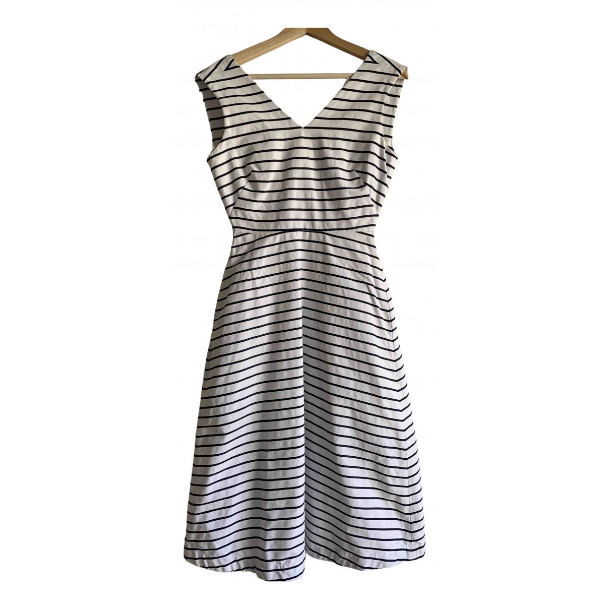 Kate Spade \N Kleid in  Weiss Baumwolle