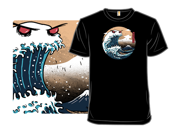 The Great Monster Of Kanagawa T Shirt