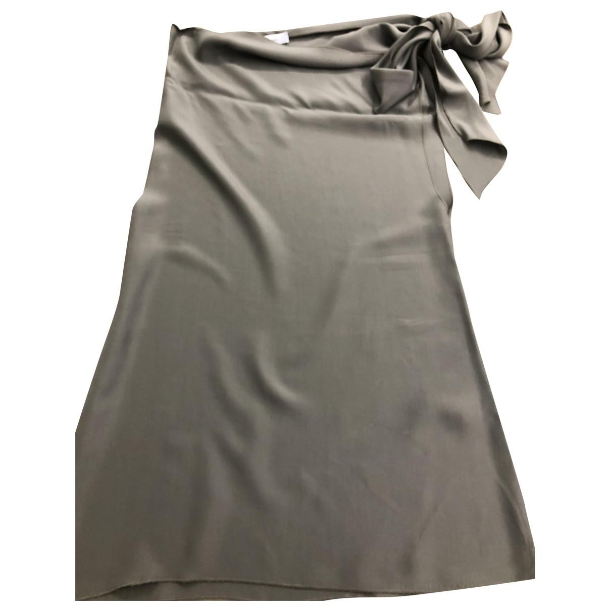 Blumarine - Top   pour femme en soie - gris
