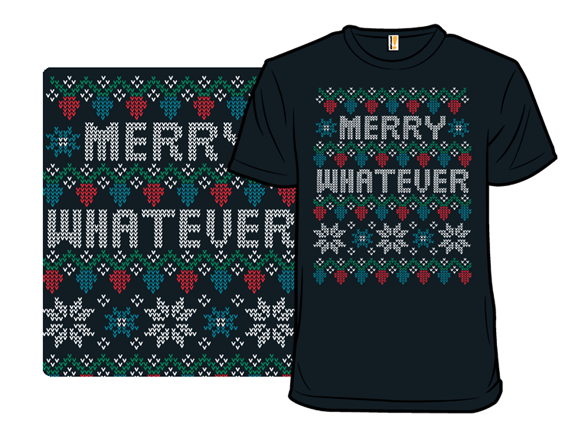 Ugly Holiday Sweater: 2016 T Shirt