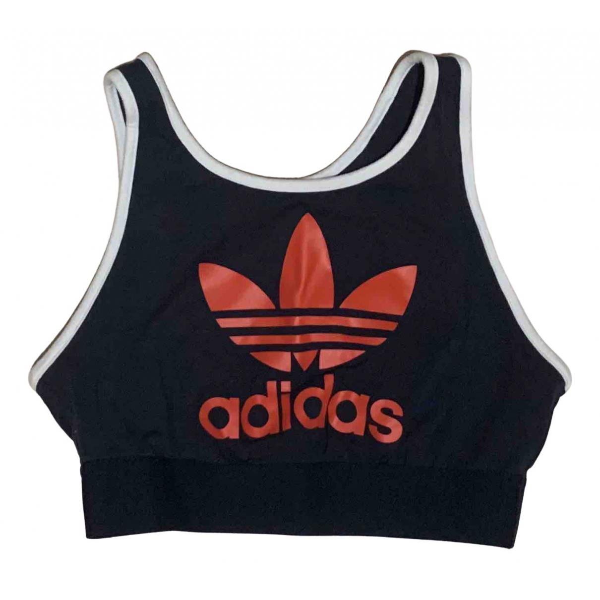 Adidas \N Top in  Blau Baumwolle