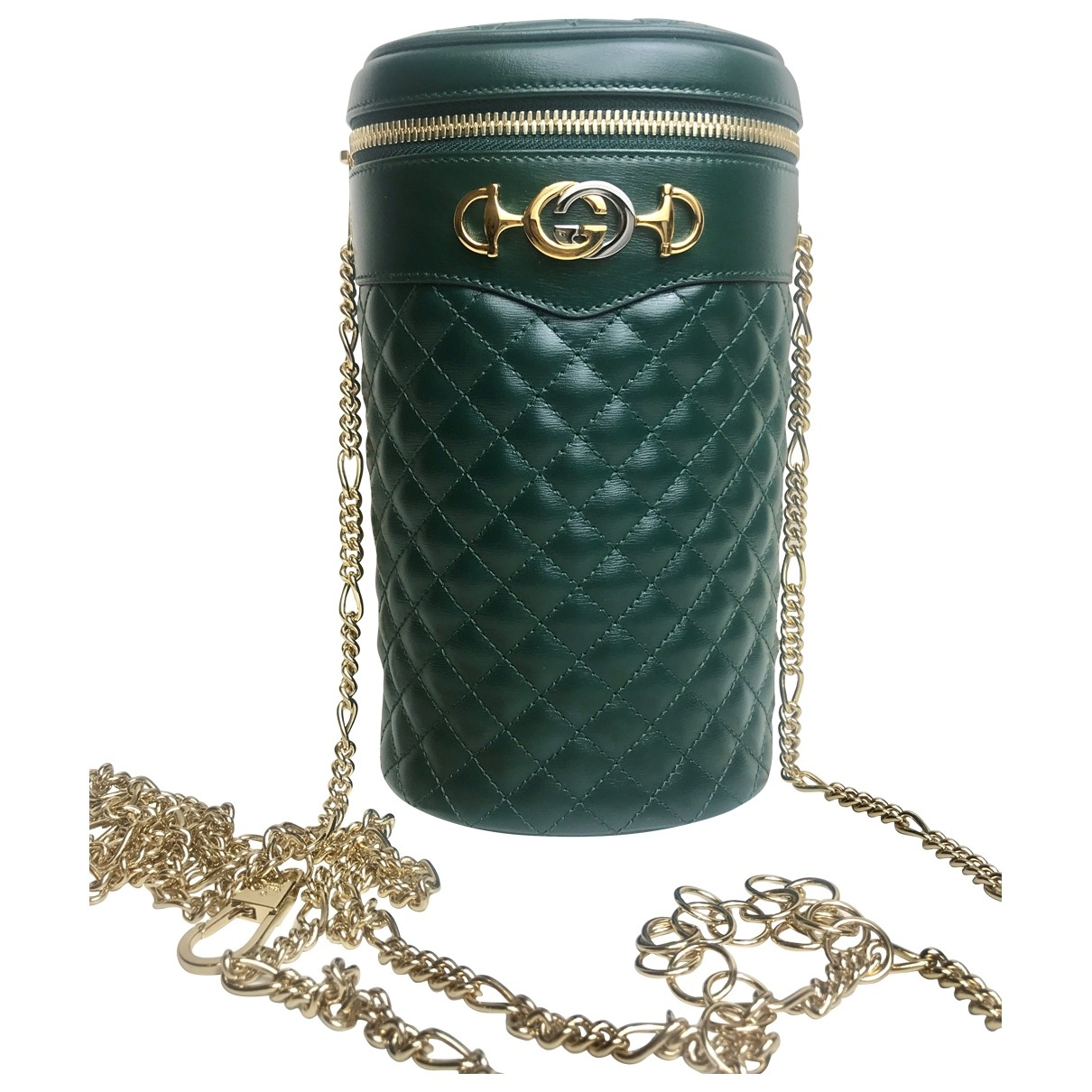 Gucci \N Green Leather handbag for Women \N