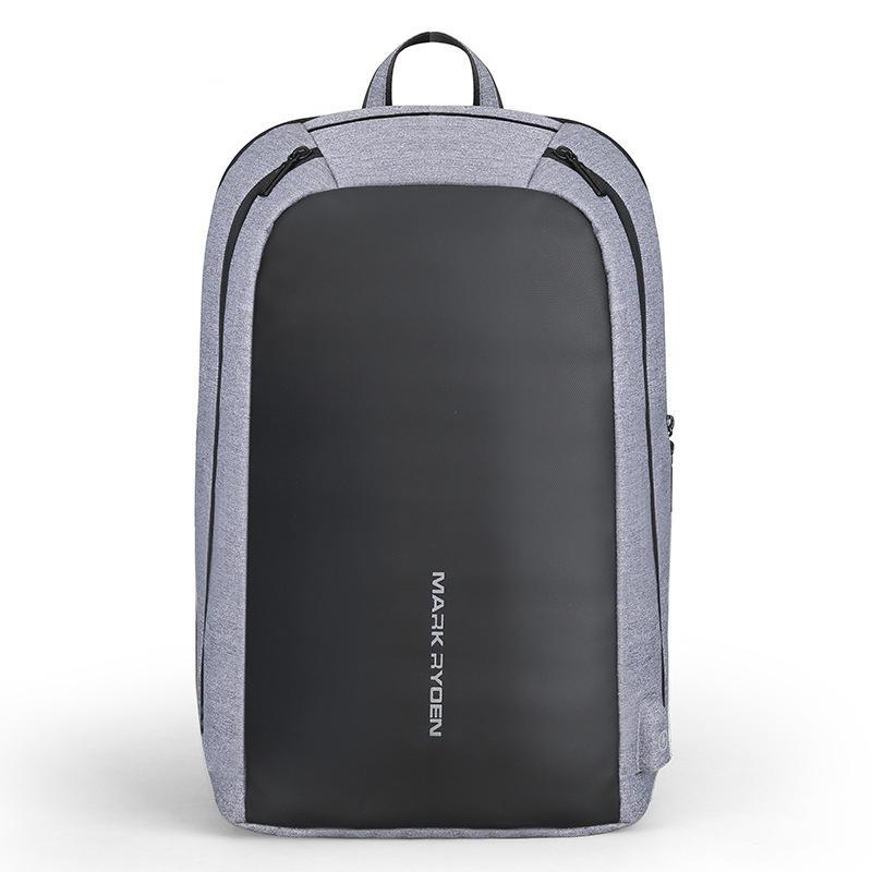 MARK RYDEN MR6971 Casual Fit 15.6 Inch Laptop Backpack Multifunction USB Recharging Bag Large Capacity Travel Fashion Ba