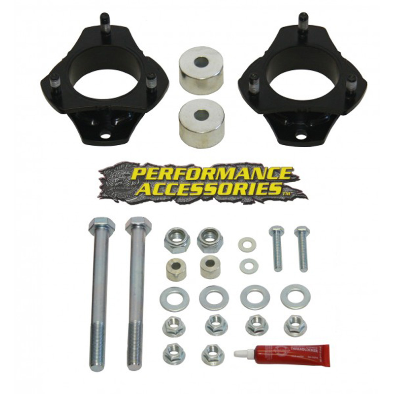 Tacoma 2.5 Inch Front Leveling Kit 05-16 Toyota Tacoma 2WD/4WD Gas Strut Extension Performance Accessories PATL230PA