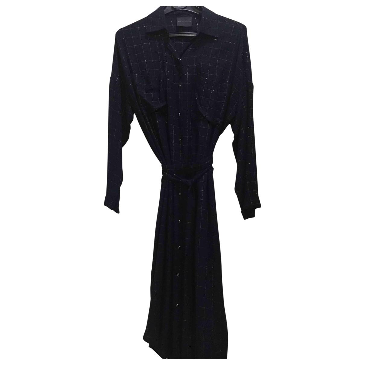 Hôtel Particulier \N Blue Wool dress for Women 1 0-5