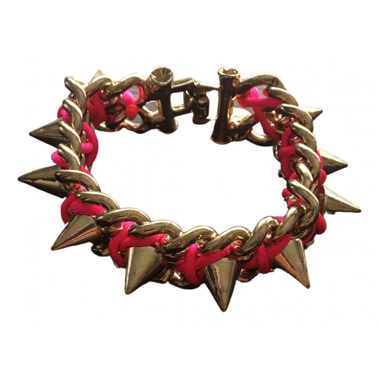 Pinko - Bracelet   pour femme en metal - dore