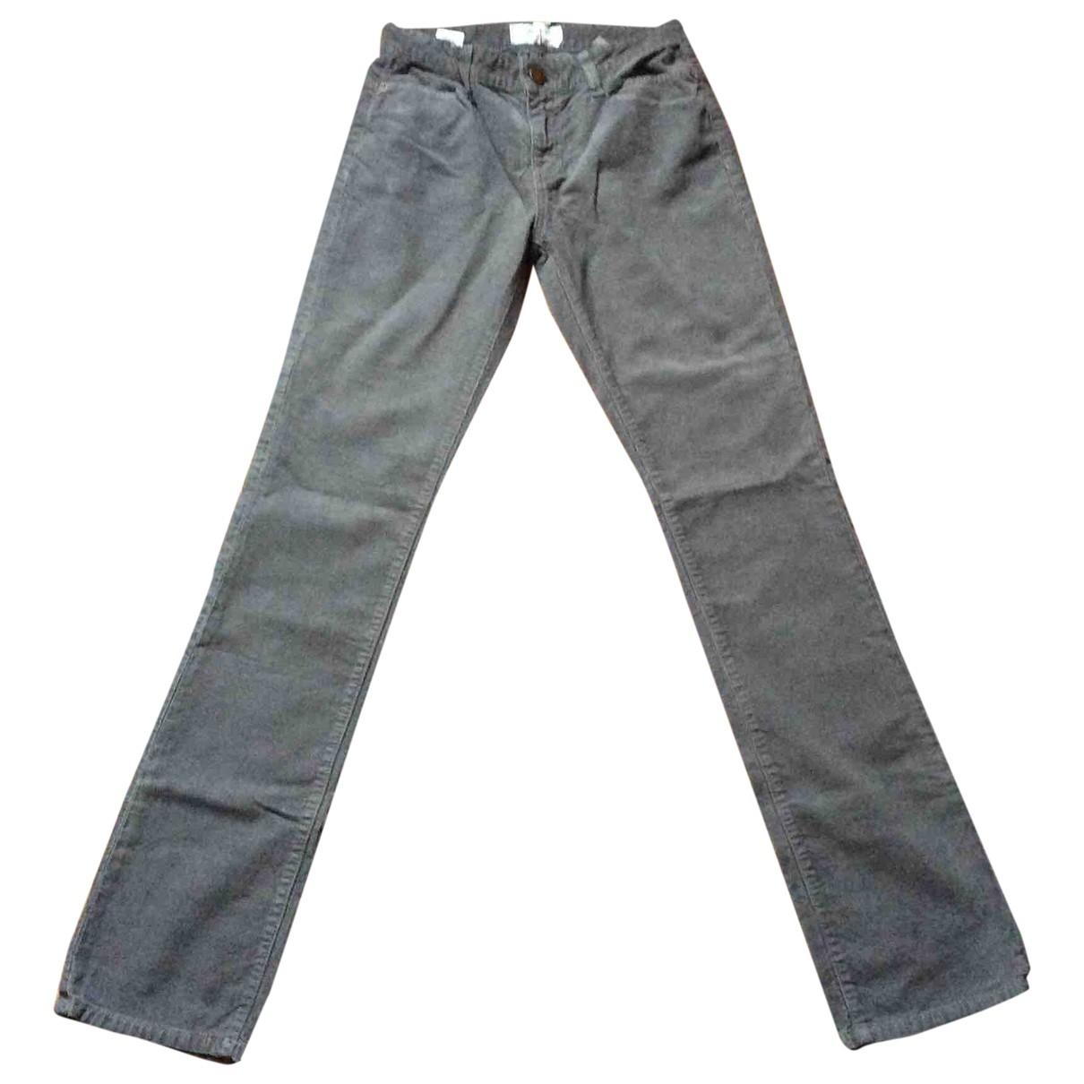 Current Elliott \N Grey Cotton Jeans for Women 26 US