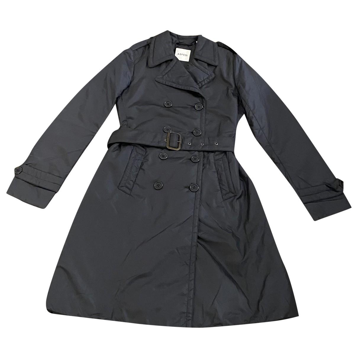 Aspesi N Blue coat for Women XS International