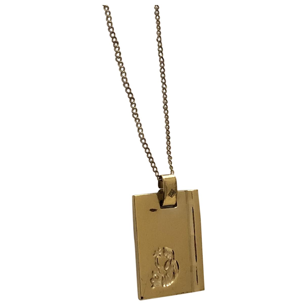Non Signe / Unsigned \N Kette in  Gold Vergoldet