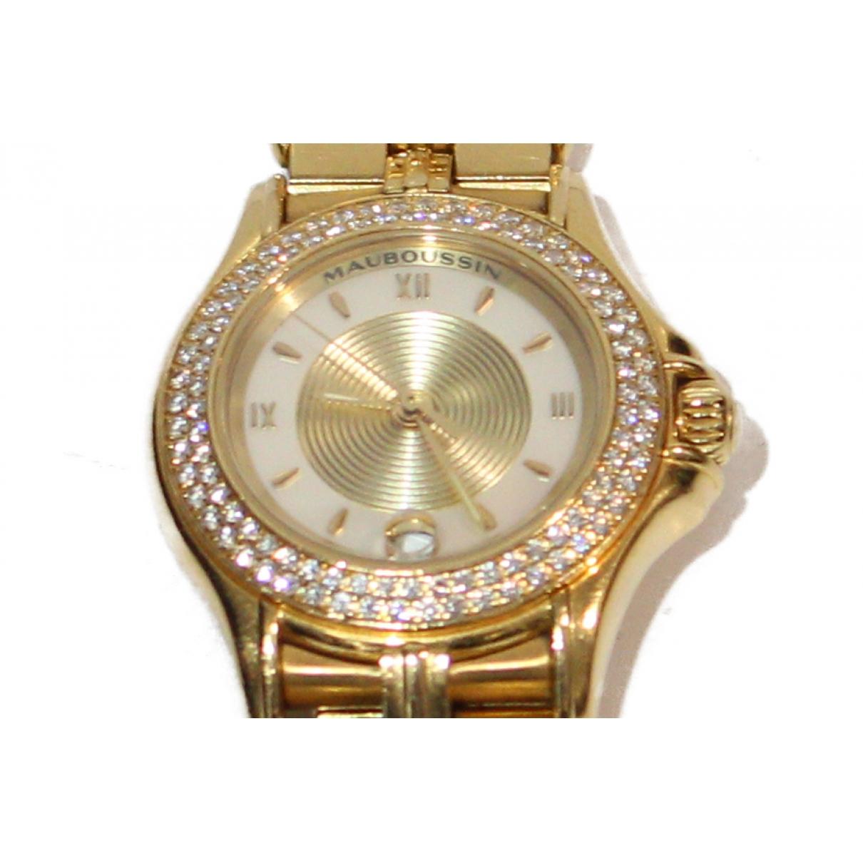 Reloj de Oro amarillo Mauboussin