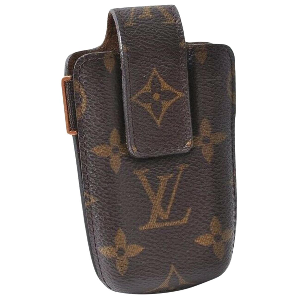 Louis Vuitton - Bijoux de portable   pour femme en toile - marron