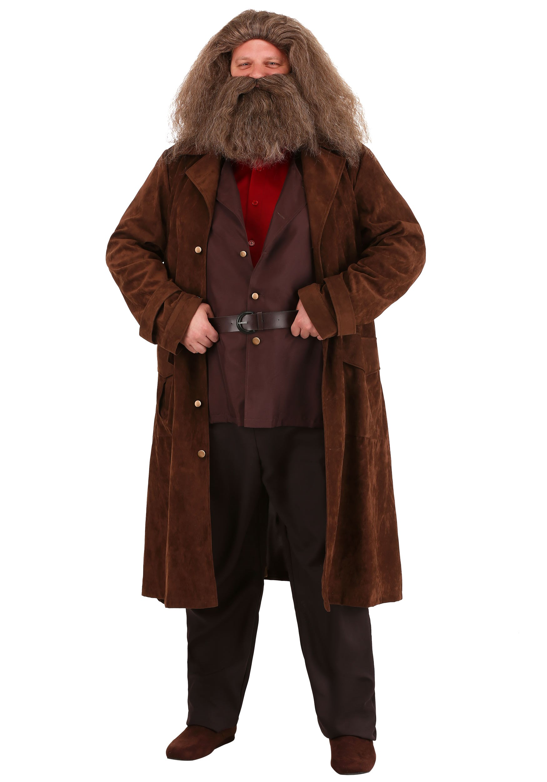 Deluxe Plus Size Harry Potter Hagrid Costume