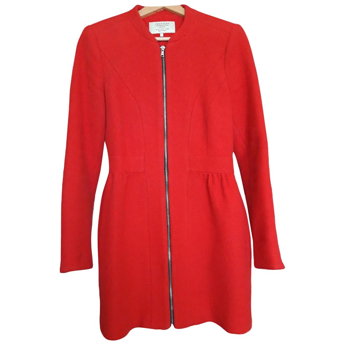 Zara \N Maentel in  Rot Baumwolle