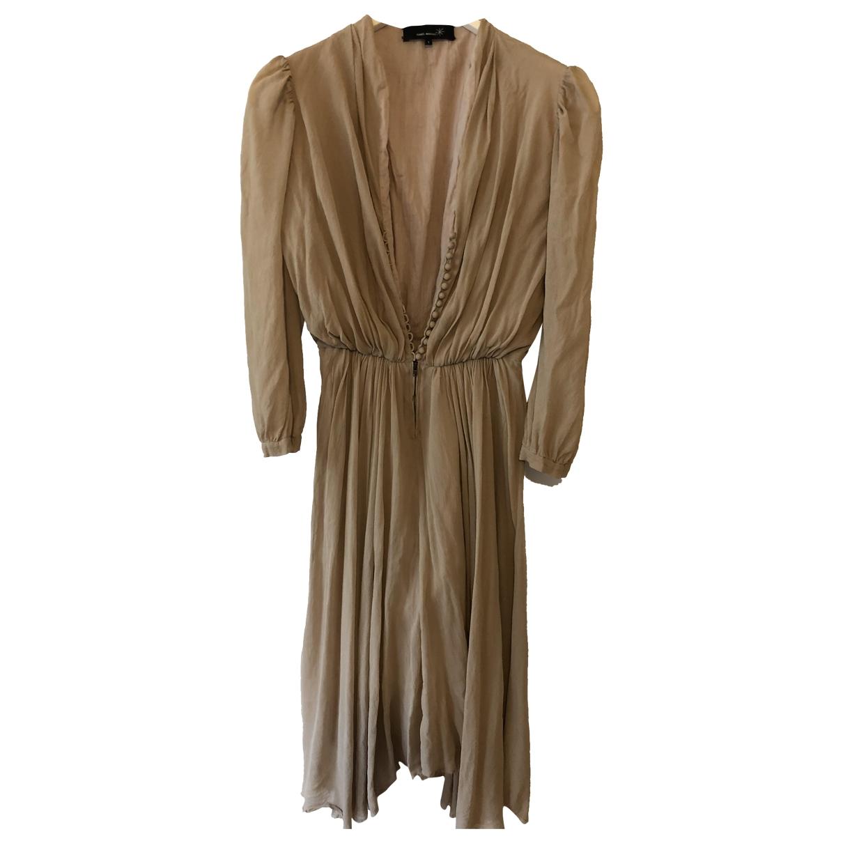 Isabel Marant - Robe   pour femme en soie - beige