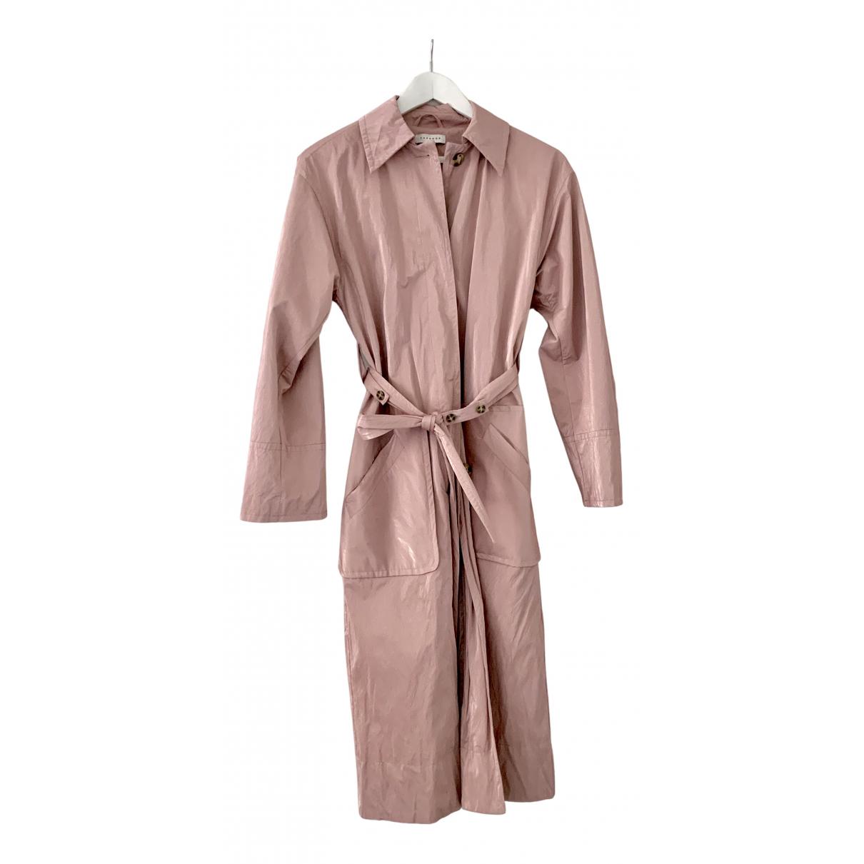 Topshop - Manteau   pour femme - metallise