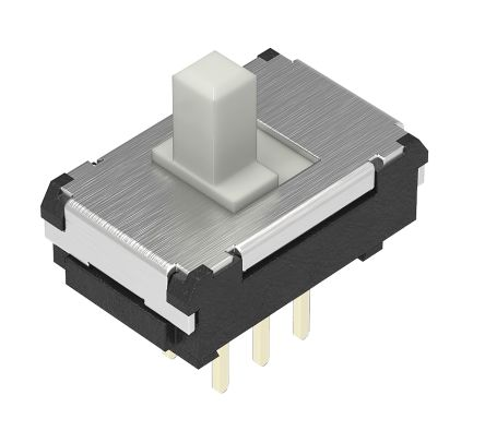 Alps Alpine Through Hole Slide Switch Double Pole Double Throw (DPDT) Latching 100 mA Slide (5)