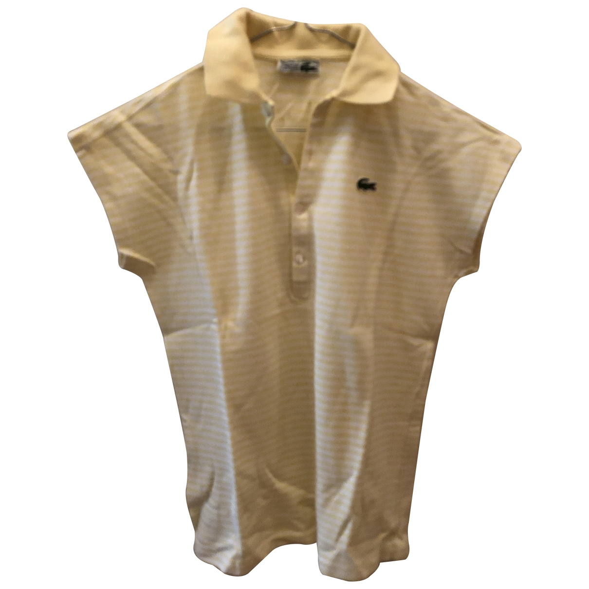 Lacoste \N Yellow Cotton  top for Women 40 FR