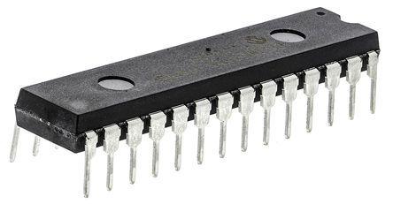 Microchip PIC18F2525-I/SP, 8bit PIC Microcontroller, PIC18F, 40MHz, 1.024 kB, 48 kB Flash, 28-Pin SPDIP