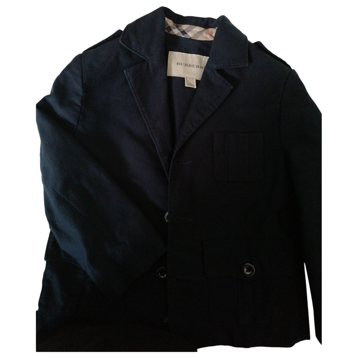 Burberry N Blue Cotton jacket & coat for Kids 3 years - up to 98cm FR
