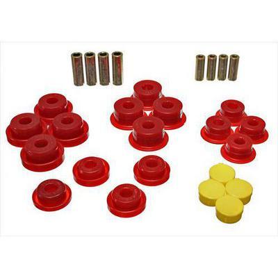Energy Suspension Control Arm Bushing Set (Red) - 2.3106R