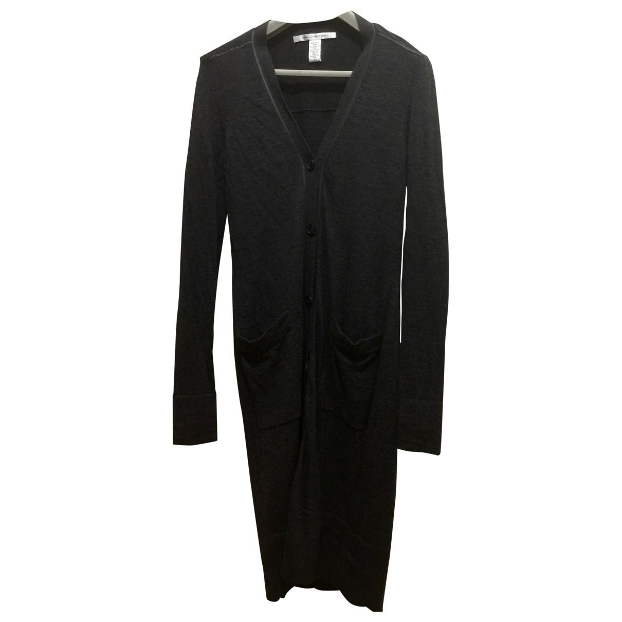 Diane Von Furstenberg - Pull   pour femme en laine - gris