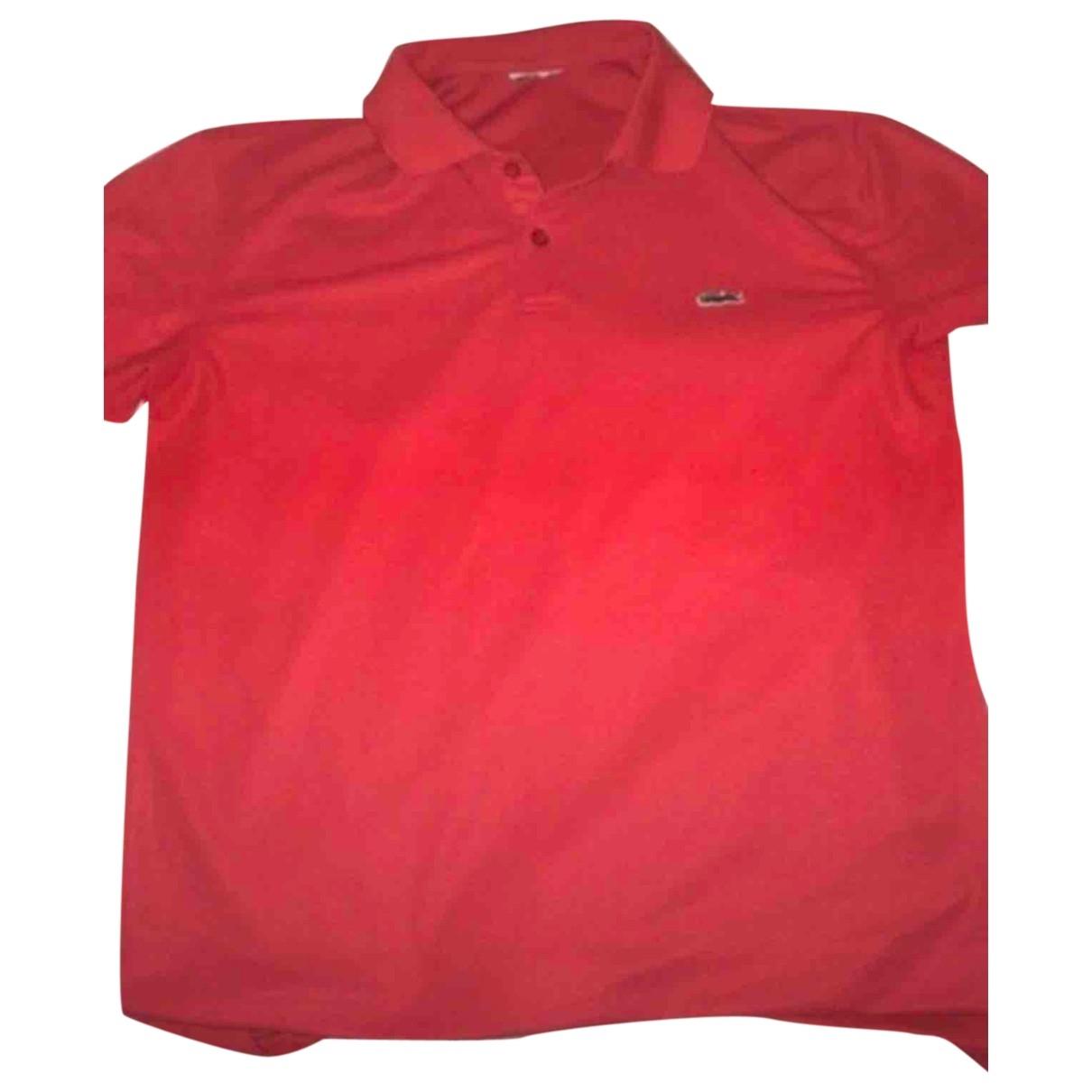 Polo en Algodon Rojo Lacoste