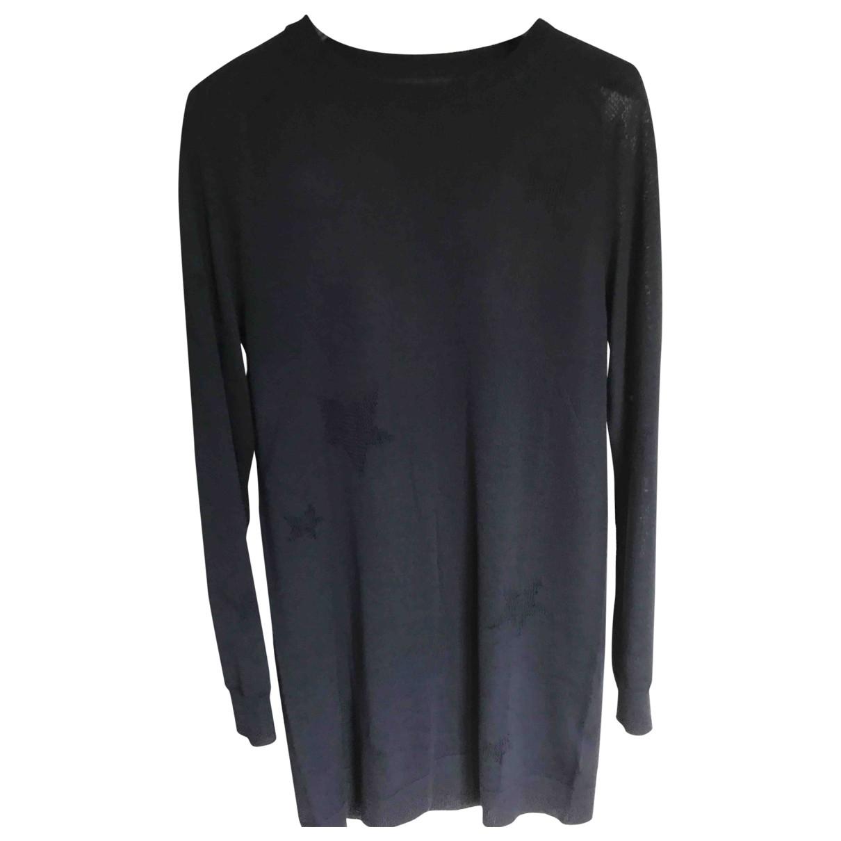 Zadig & Voltaire \N Kleid in  Blau Wolle