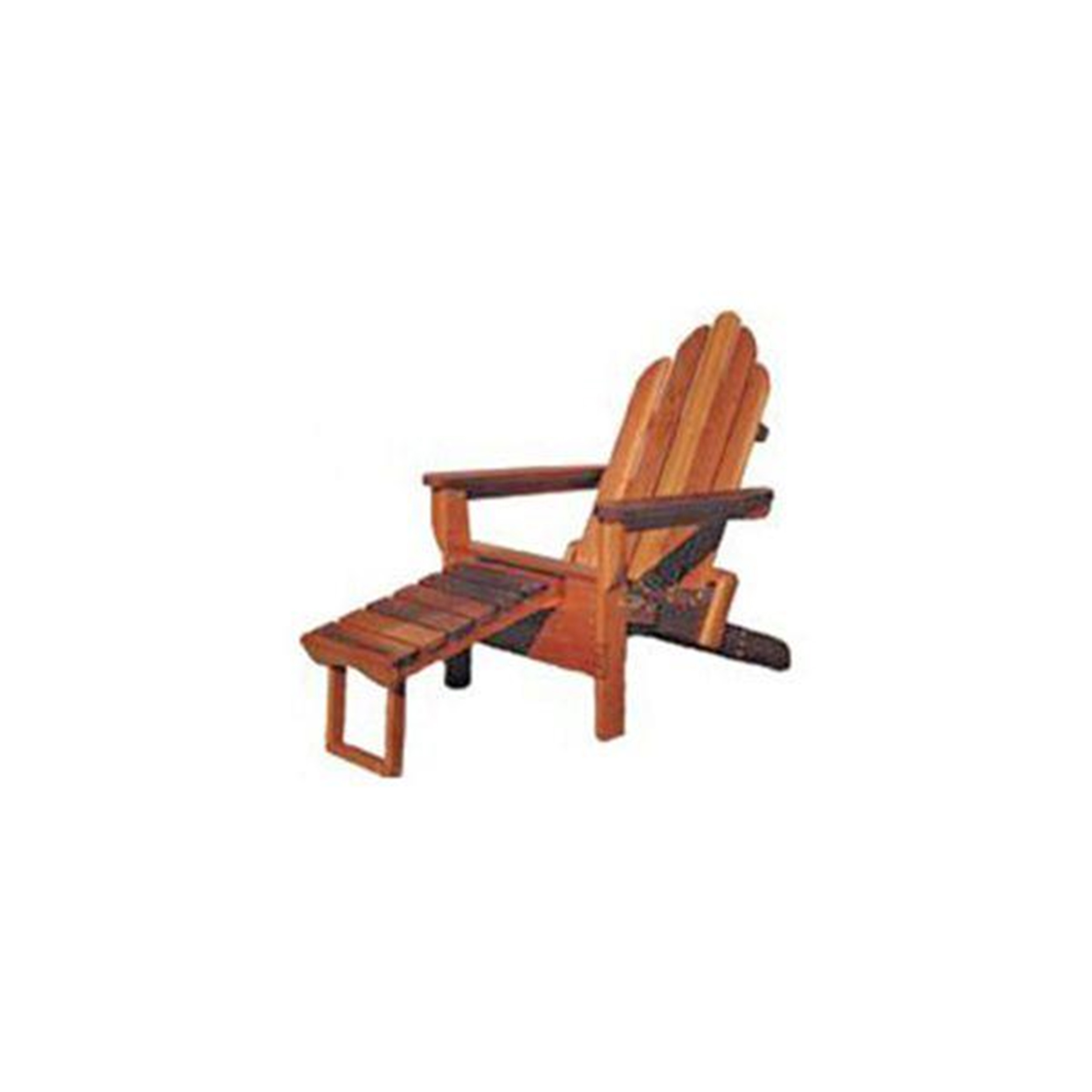 Woodworking Project Paper Plan to Build Adirondack Folder with Footrest