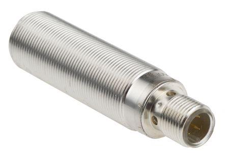 ifm electronic M18 x 1 Inductive Sensor - Barrel, PNP/NPN-NO/NC Output, 8 mm Detection, IP68, M12 - 4 Pin Terminal