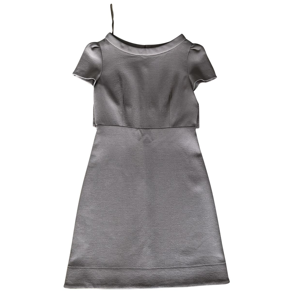 Prada \N Kleid in  Beige Wolle