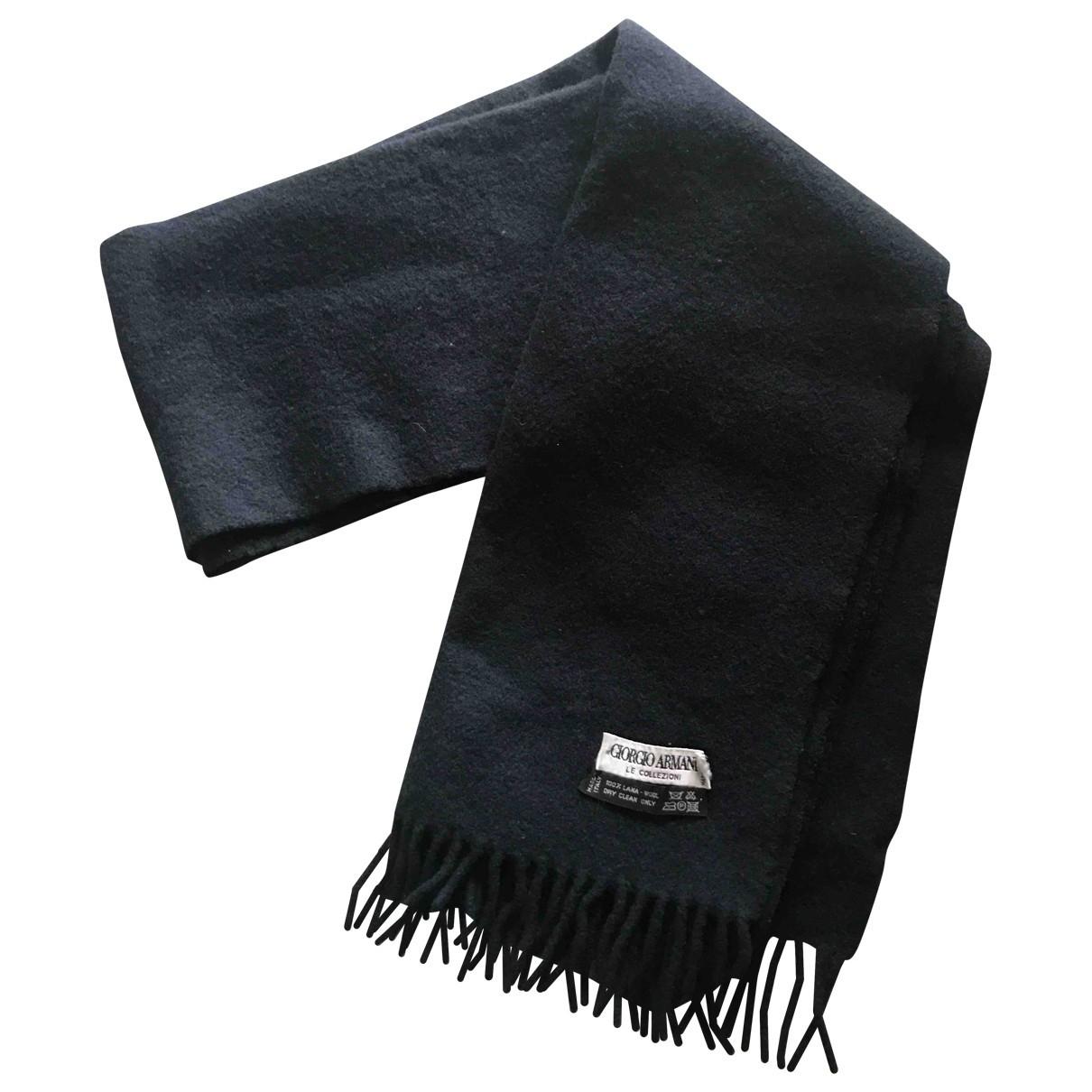 Pañuelo / bufanda de Lana Armani Collezioni