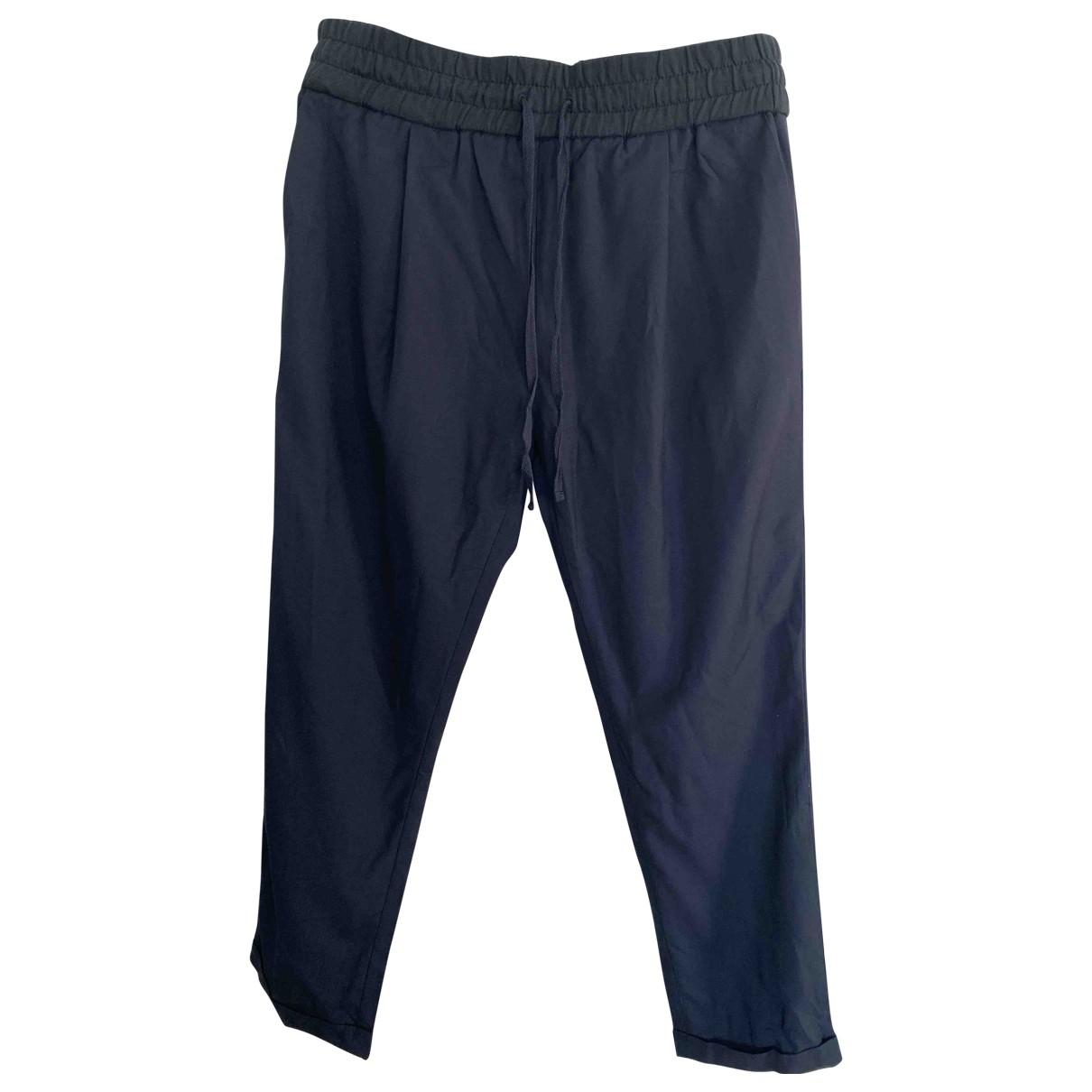 By Malene Birger \N Blue Trousers for Women 38 FR