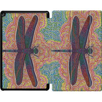 Amazon Fire HD 10 (2018) Tablet Smart Case - Dragonfly Colors  von Kaitlyn Parker