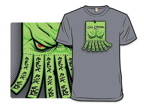 Call Cthulhu T Shirt