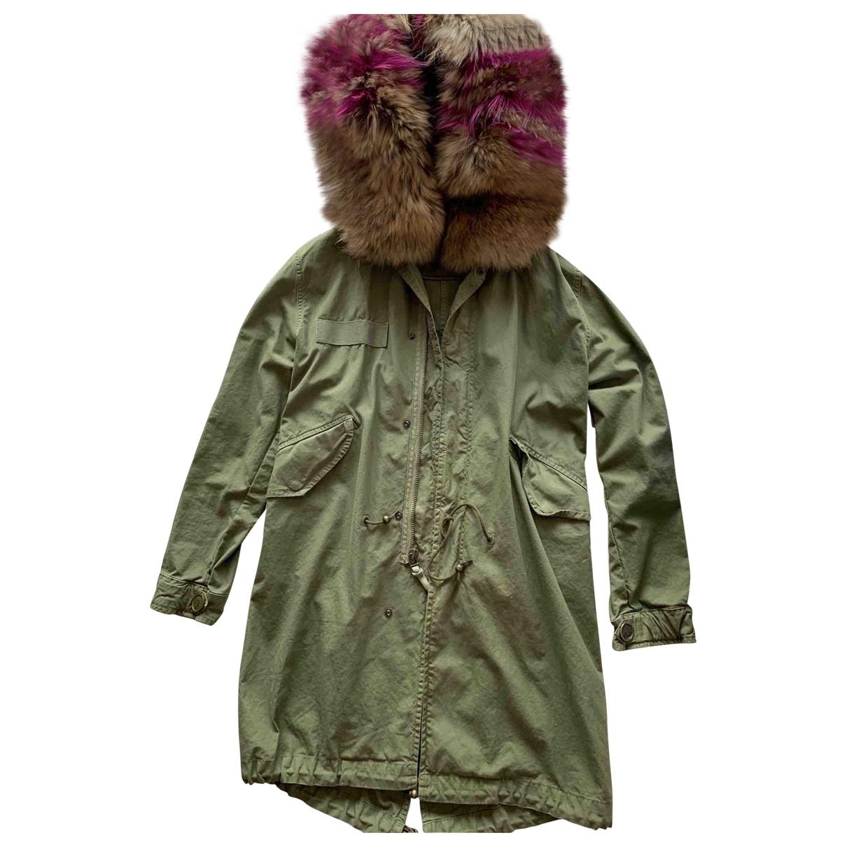 Mr & Mrs Italy \N Green Cotton coat for Women XXS International