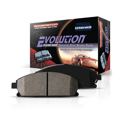 Power Stop Z16 Evolution Ceramic Clean Ride Scorched Brake Pads - 16-1779