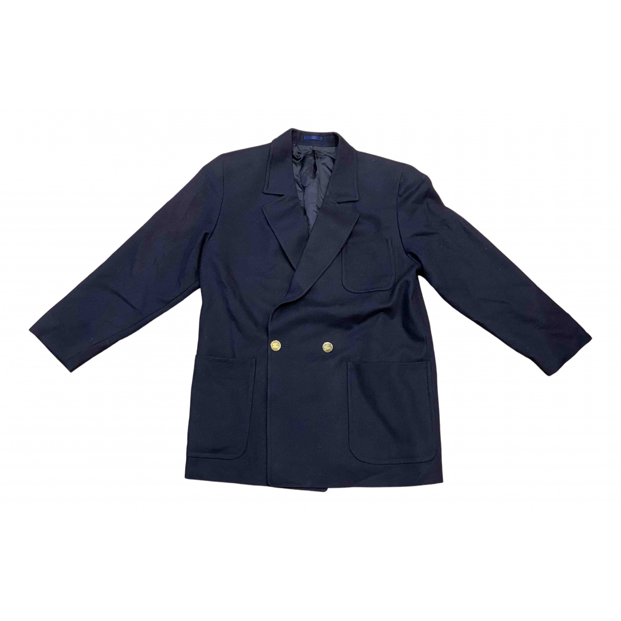 Burberry N Navy Wool jacket for Women 40 FR
