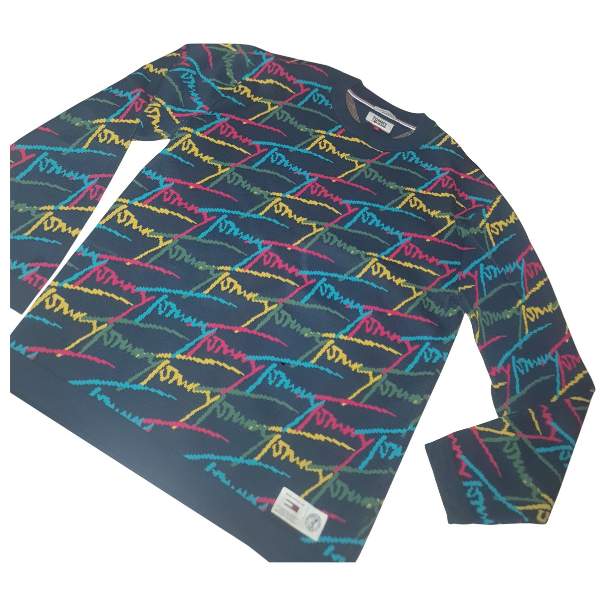 Tommy Jeans \N Pullover.Westen.Sweatshirts  in  Bunt Baumwolle