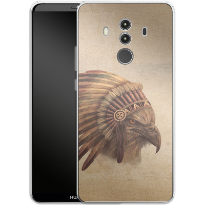 Huawei Mate 10 Pro Silikon Handyhuelle - Eagle Chief von Terry Fan