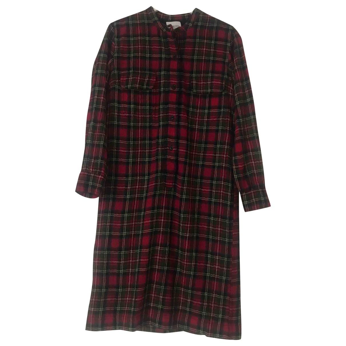 Laurence Dolige \N Red Wool dress for Women 36 FR