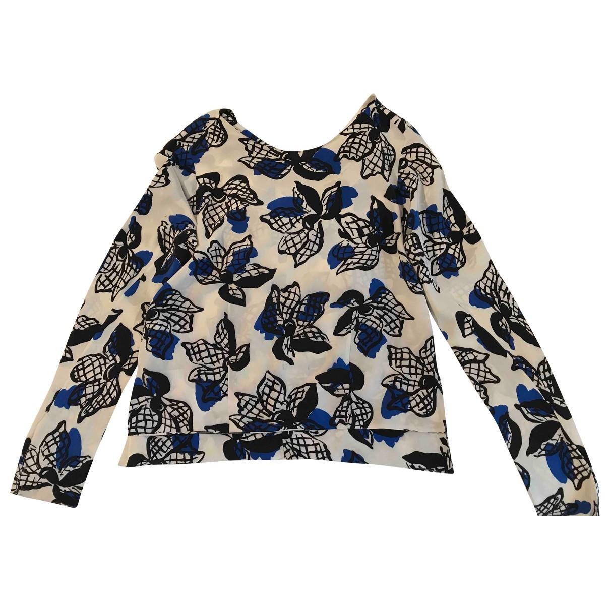 Marni - Top   pour femme en soie - multicolore