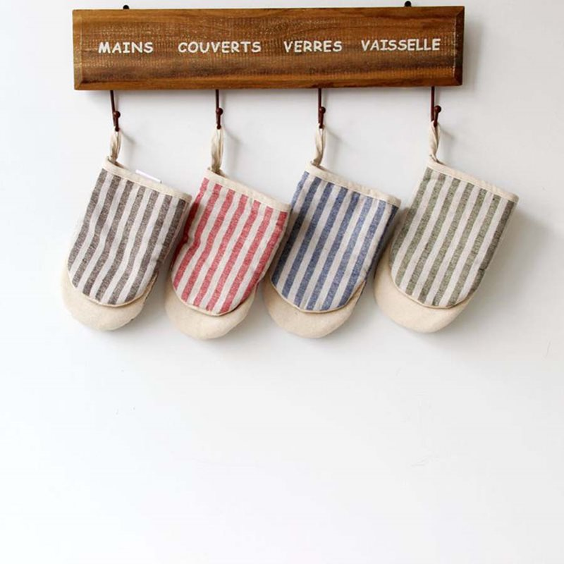 Beddinginn Stripe Polyester Insulated Gloves