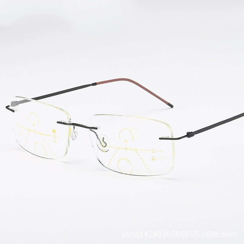 Unisex Ultra-light Smart Near-use Multi-focus Presbyopic Reading Glasses Eye Protection Glasses