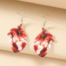 Ohrringe mit Herzen Anhaenger